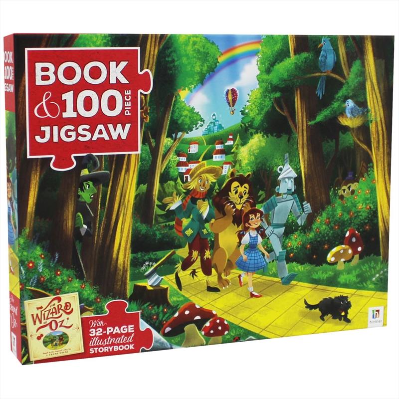 Wizard of Oz - Book and 100 Piece Jigsaw Set   Merchandise
