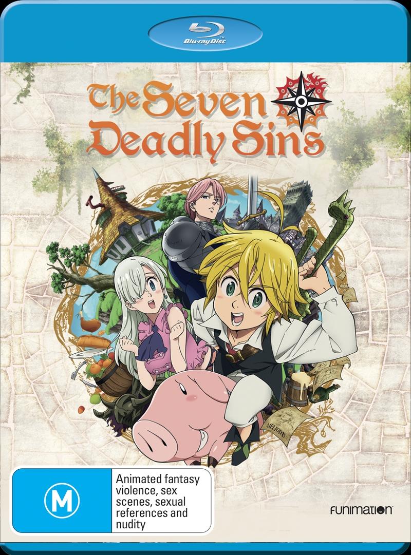 Seven Deadly Sins - Season 1   Blu-ray