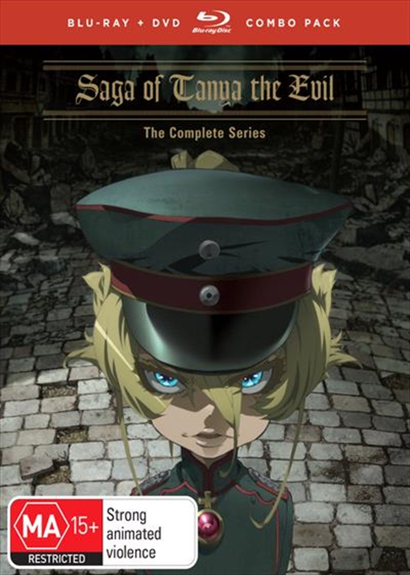 Saga Of Tanya The Evil | Blu-ray + DVD - Complete Series | Blu-ray/DVD