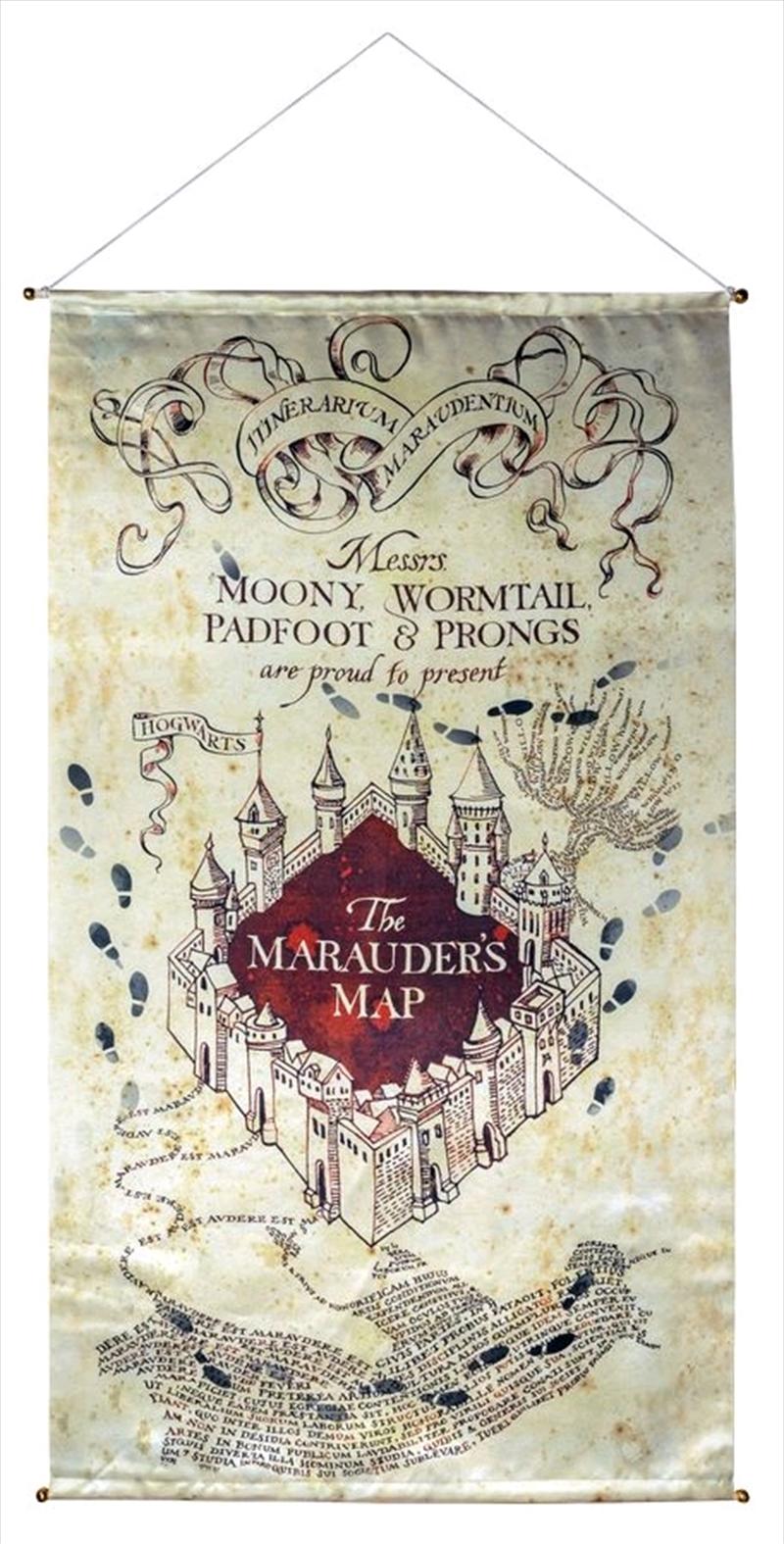 Harry Potter - Marauder's Map Banner | Merchandise