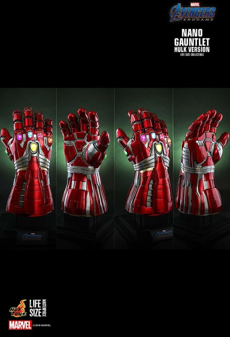 Avengers 4: Endgame - Nano Gauntlet (Hulk Version) 1:1 Scale Replica | Collectable