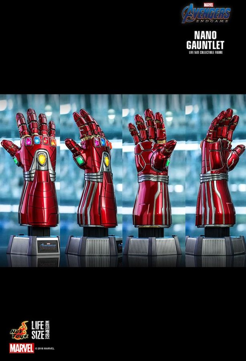 Avengers 4: Endgame - Nano Gauntlet Lifesize Replica | Collectable