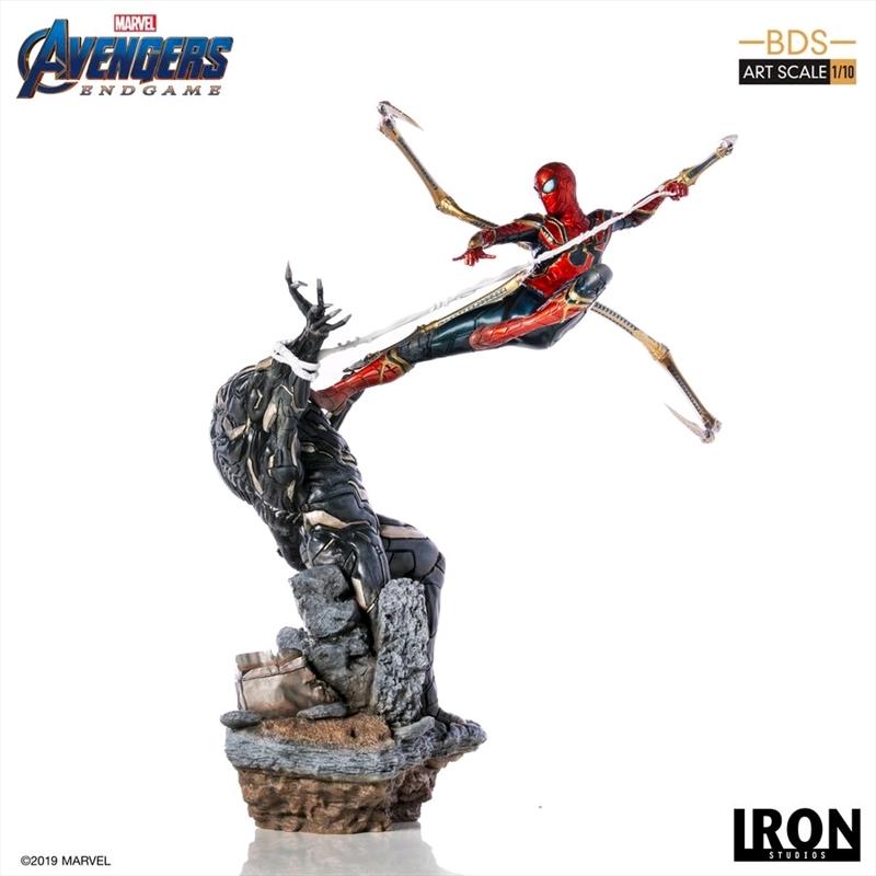 Avengers 4: Endgame - Iron Spider vs Outrider 1:10 Scale Statue   Merchandise