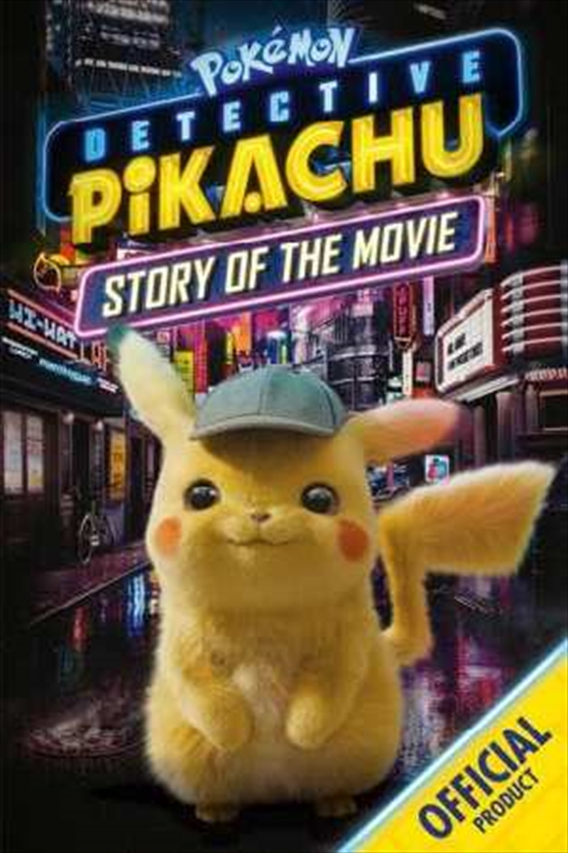 Detective Pikachu Story of the Movie | Paperback Book