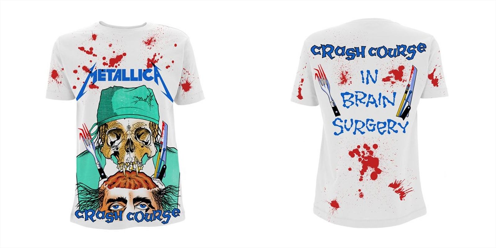 Metallica - Crash Course In Brain Surgery: Tshirt: M | Apparel