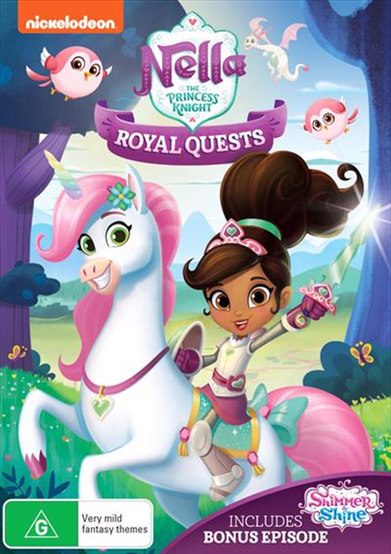 Nella The Princess Knight - Royal Quests | DVD