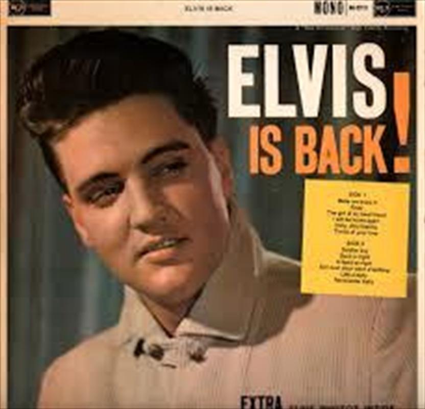 Elvis Is Back - Coloured Vinyl | Vinyl