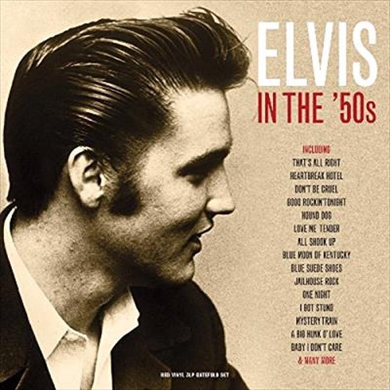 Elvis In The 50's   Vinyl
