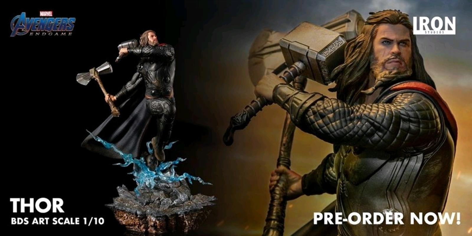 Avengers 4: Endgame - Thor 1:10 Scale Statue   Merchandise
