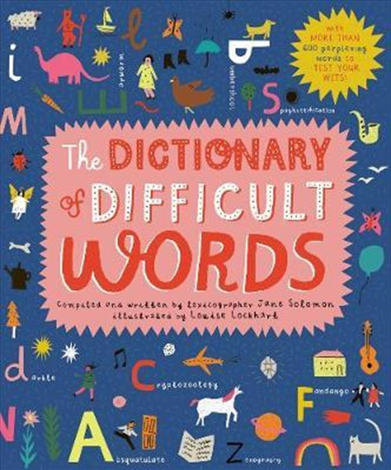 Dictionary of Difficult Words : With more than 400 perplexing words to test your wits! | Hardback Book