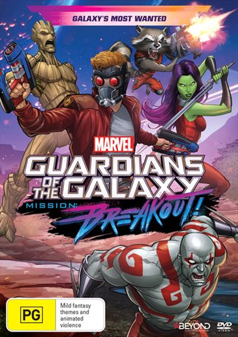 Guardians Of The Galaxy - Mission Breakout - Galaxy's Most Wanted | DVD