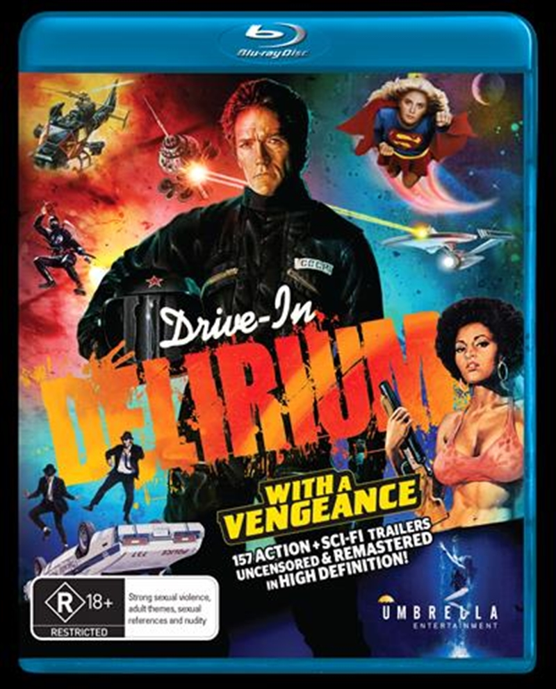 Drive-In Delirium - With A Vengeance | Blu-ray