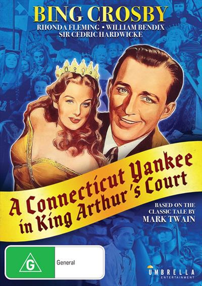 A Connecticut Yankee In King Arthur's Court | DVD