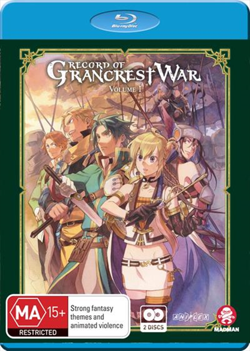 Record Of Grancrest War - Vol - Eps 1-12 | Blu-ray