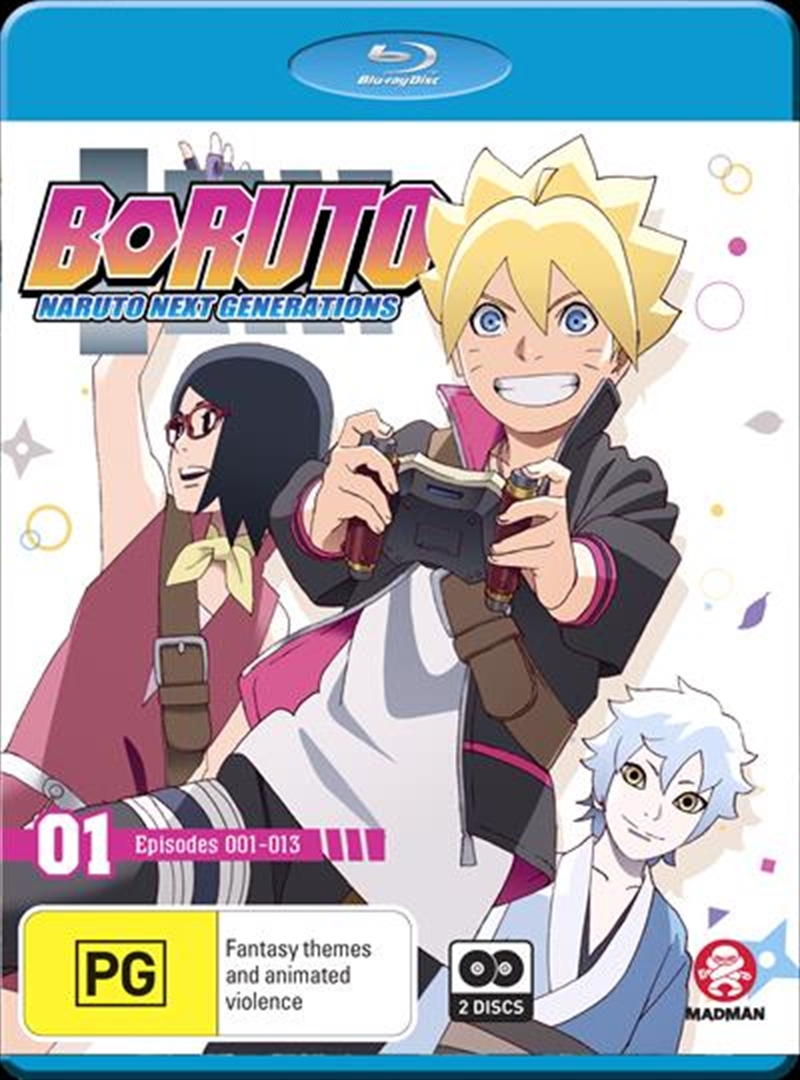 Boruto - Naruto Next Generations - Part 1 - Eps 1-13 | Blu-ray