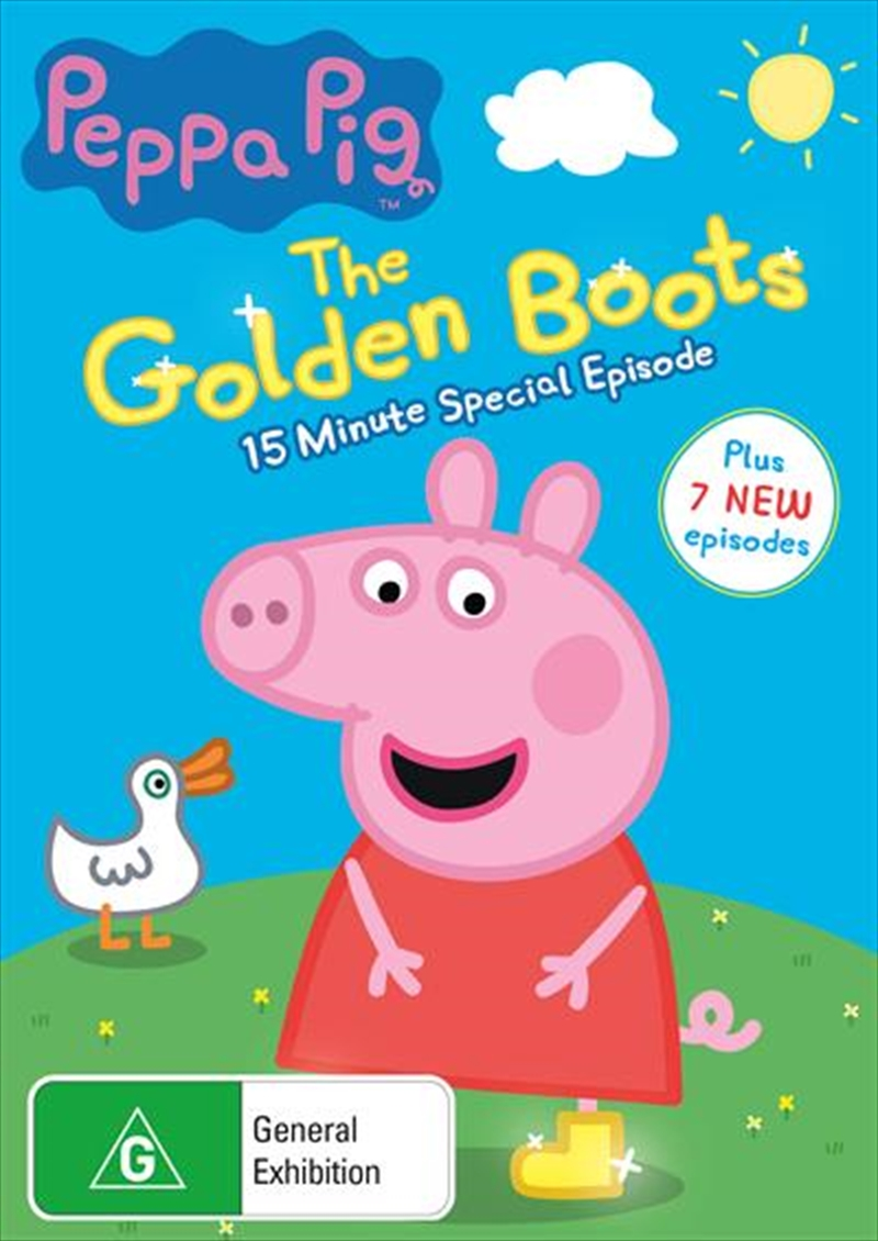 Peppa Pig - The Golden Boots | DVD