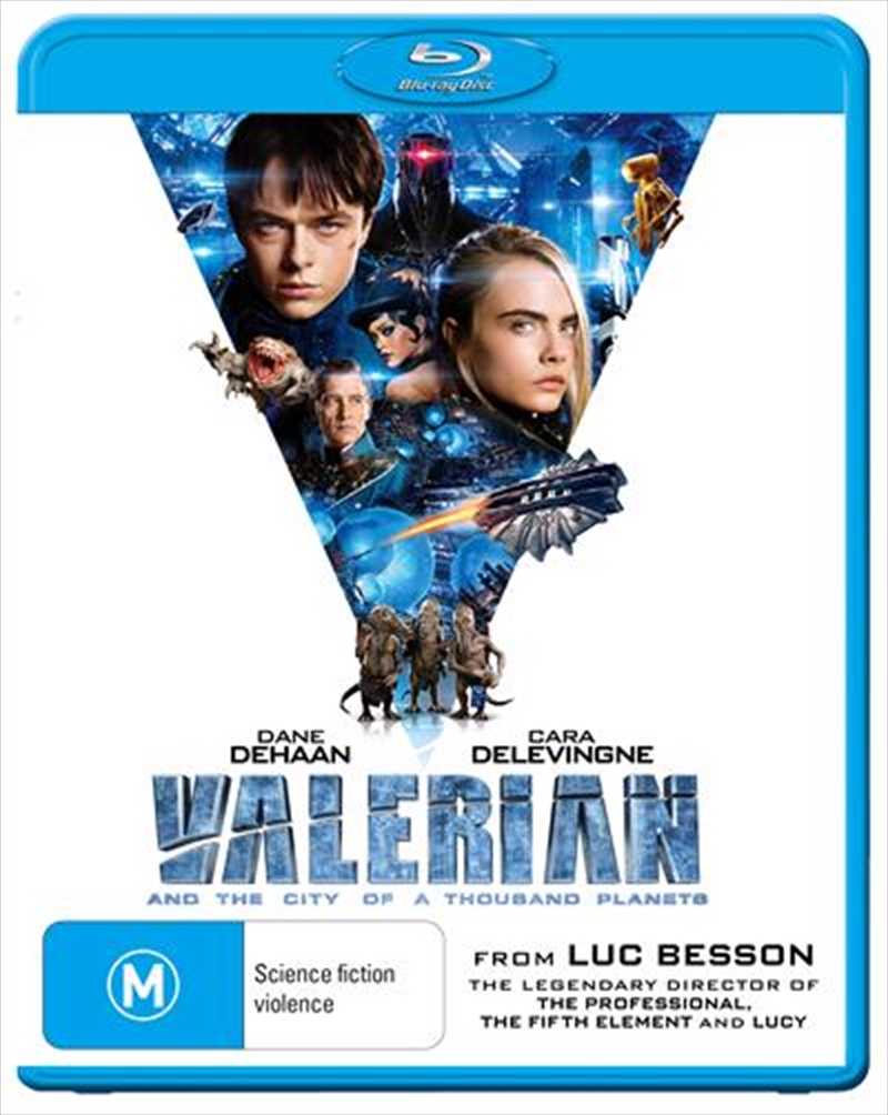 Valerian And The City Of A Thousand Planets | Blu-ray