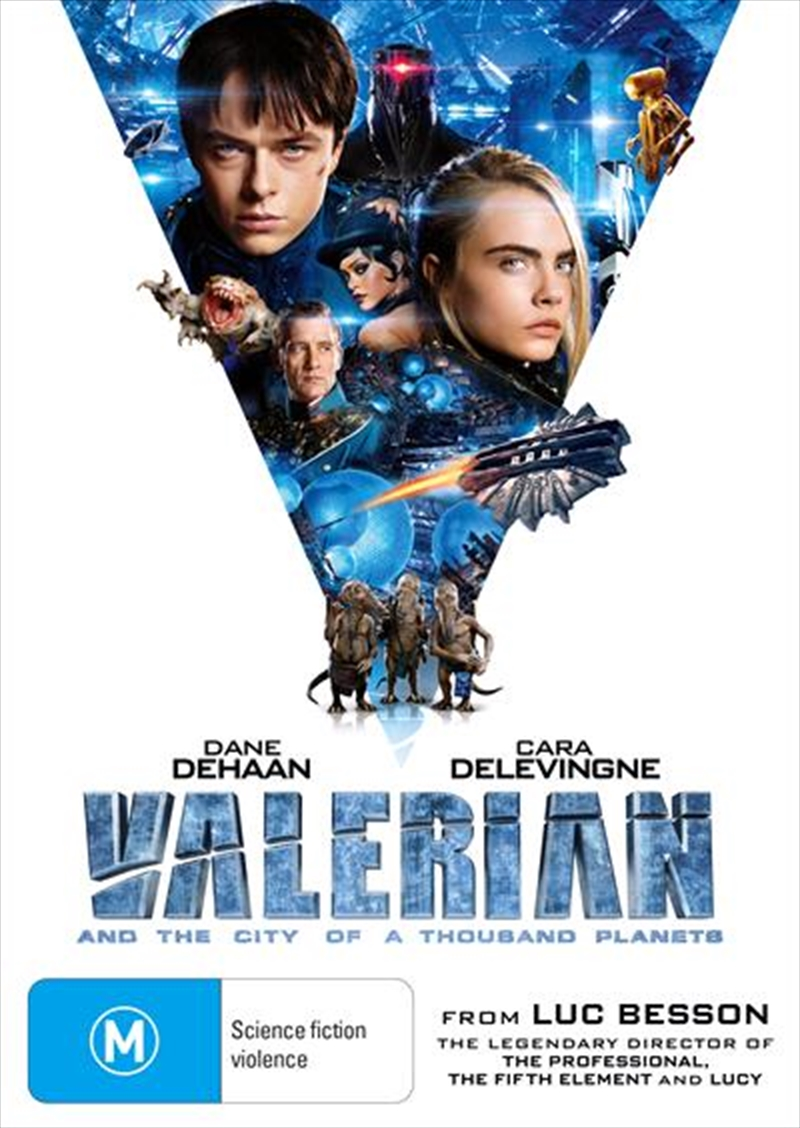 Valerian And The City Of A Thousand Planets | DVD