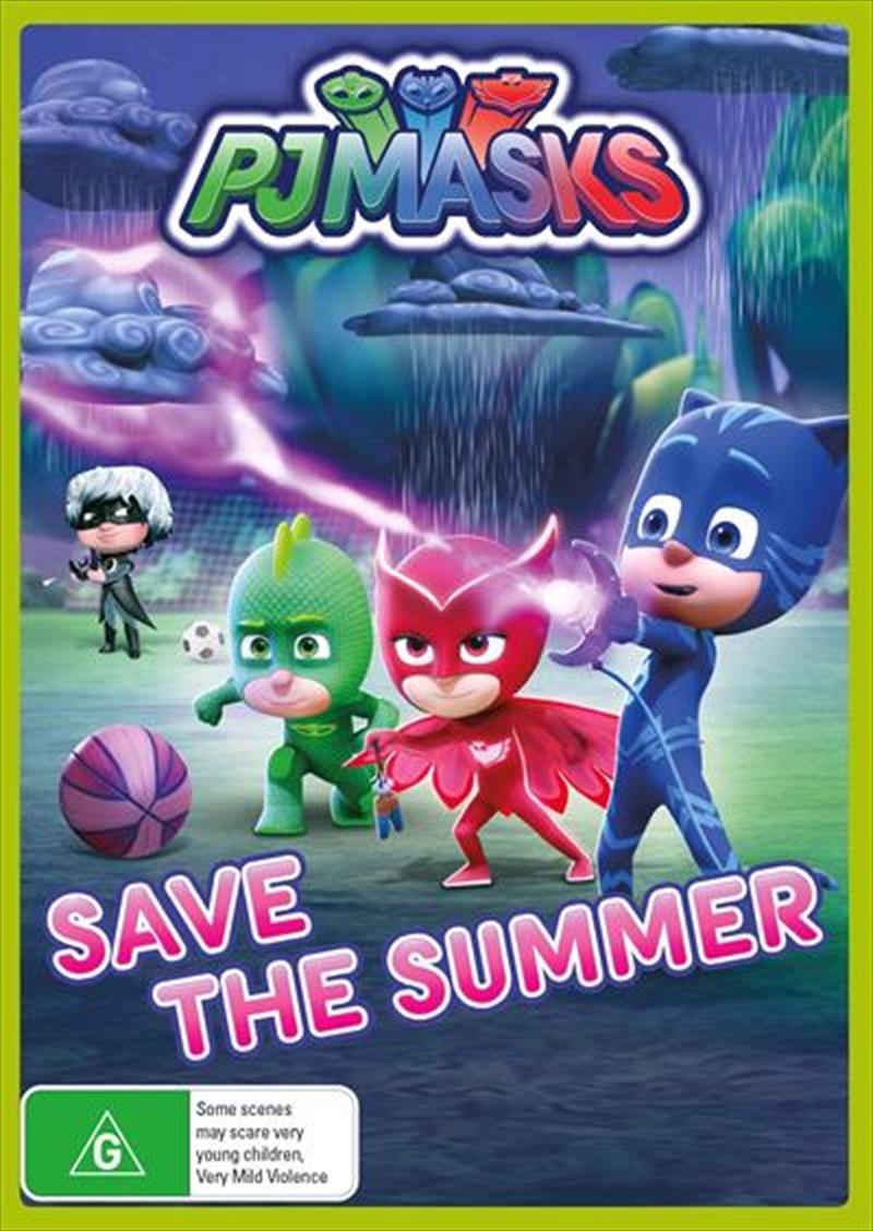 PJ Masks - Save The Summer | DVD