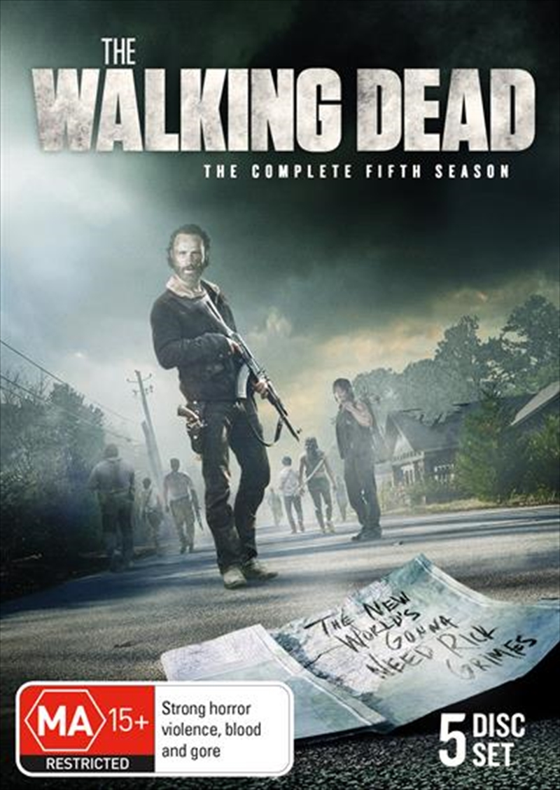 Walking Dead - Season 5, The | DVD