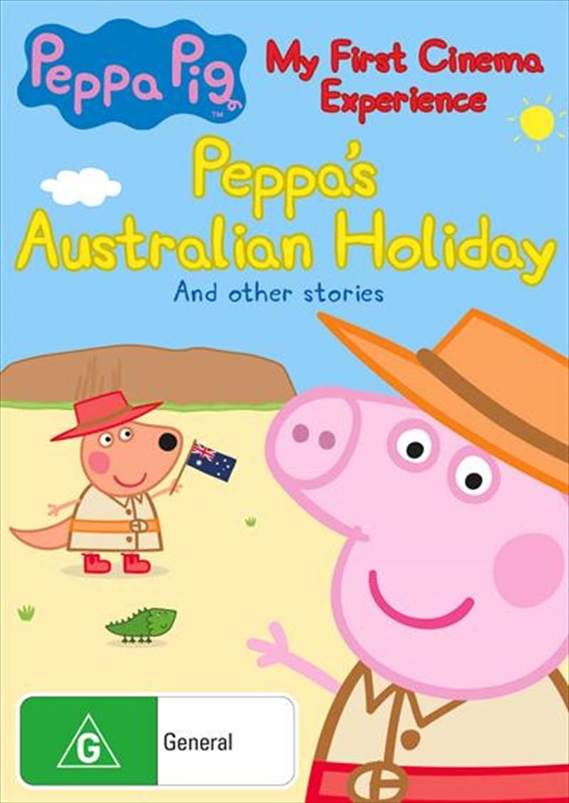 Peppa Pig - My First Cinema Experience - Peppa's  Australian Holiday   DVD