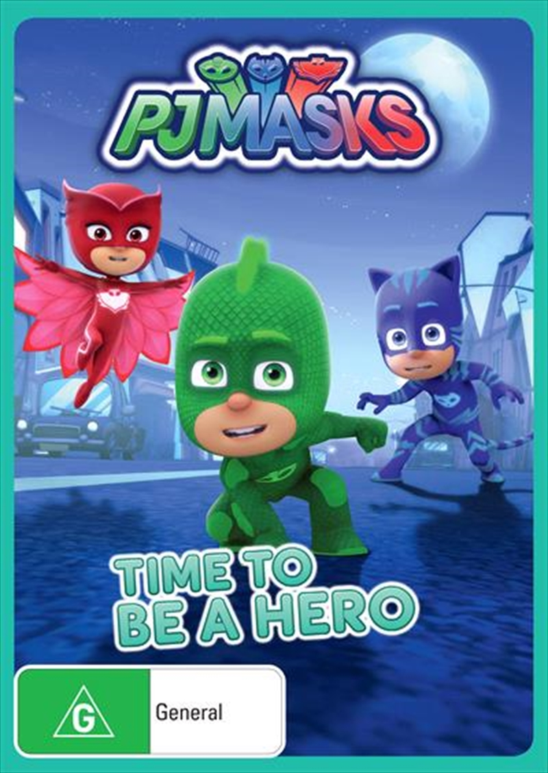 PJ Masks - Time To Be A Hero | DVD