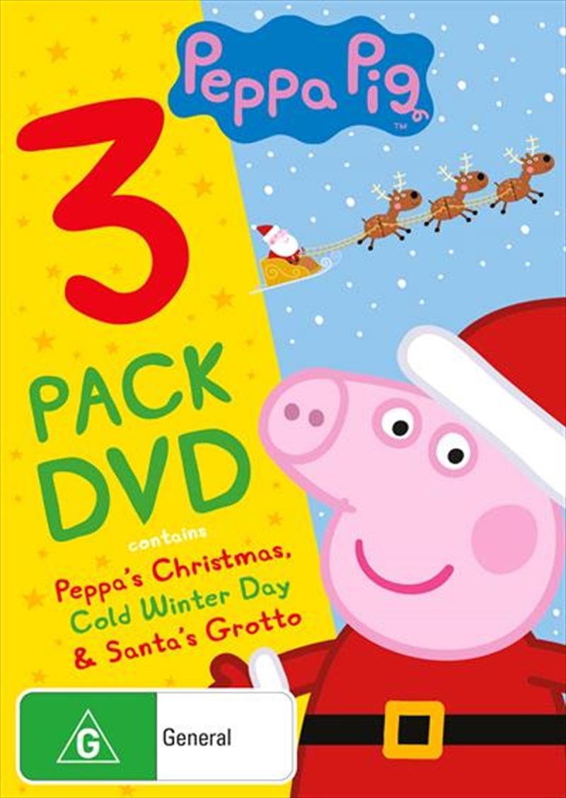 Peppa Pig - Christmas | Triple Pack | DVD