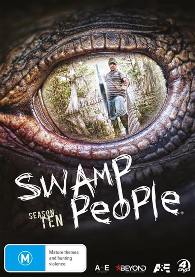Swamp People - Season 10   DVD