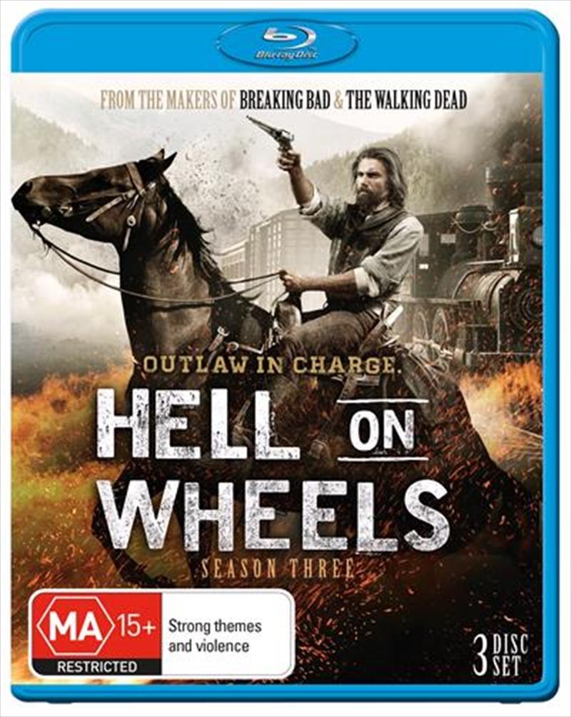 Hell On Wheels - Season 3 | Blu-ray