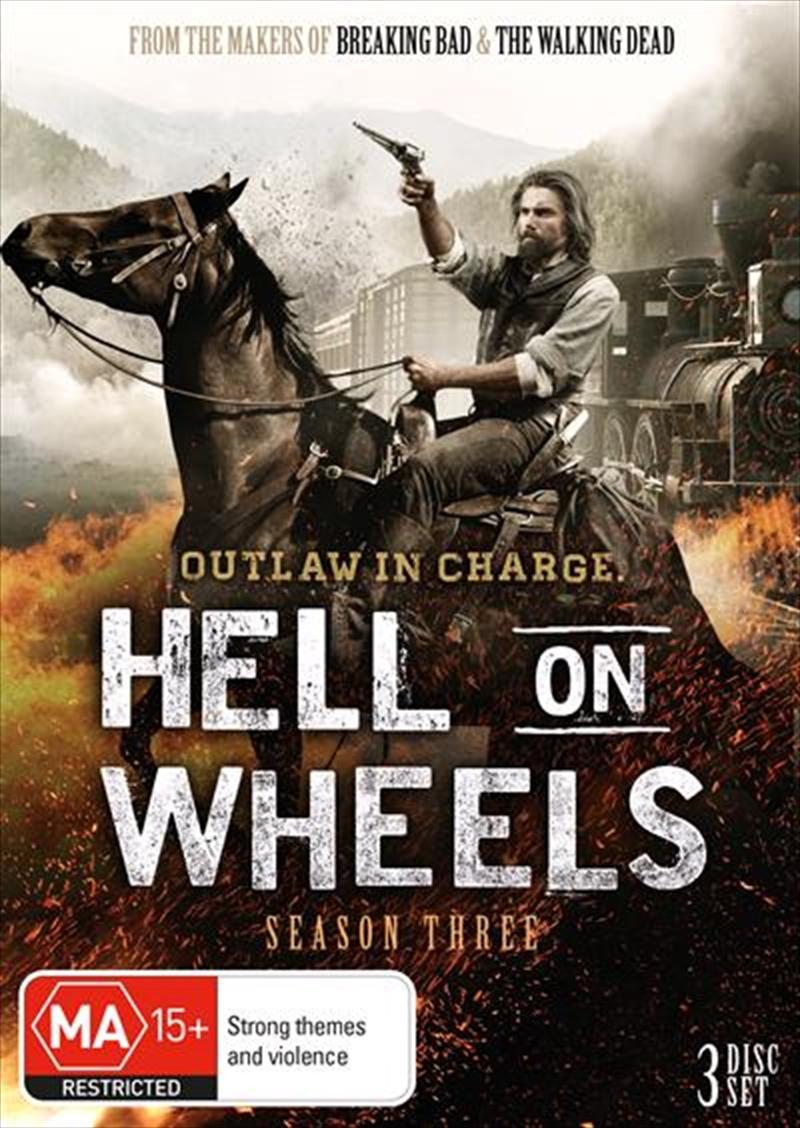 Hell On Wheels - Season 3 | DVD