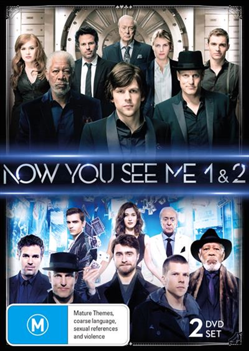 Now You See Me / Now You See Me 2 | DVD