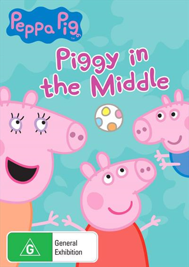 Peppa Pig - Piggy In The Middle And Other Stories | DVD