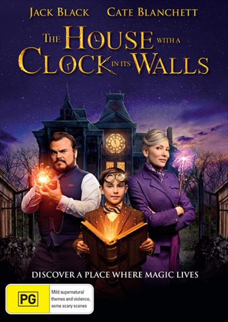 House With A Clock In Its Walls, The | DVD