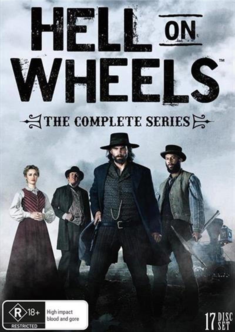 Hell On Wheels - Season 1-5   DVD