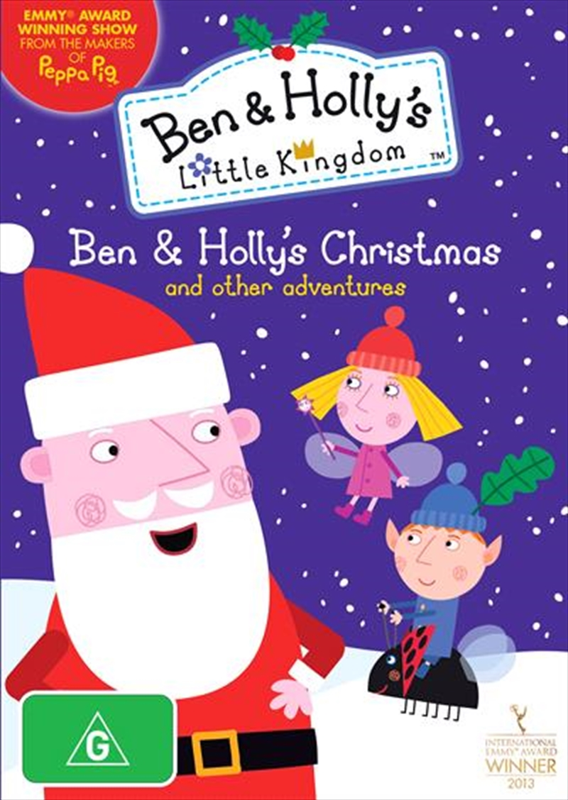 Ben And Holly's Little Kingdom - Ben and Holly's Christmas   DVD