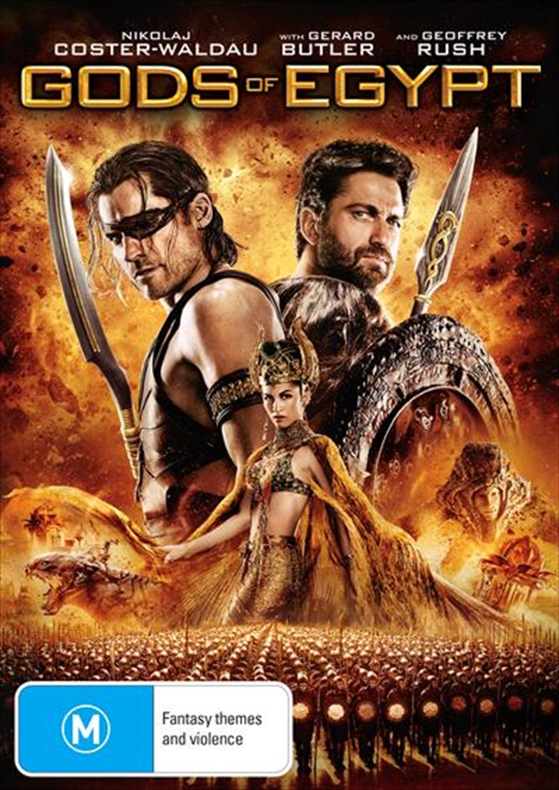 Gods Of Egypt | DVD