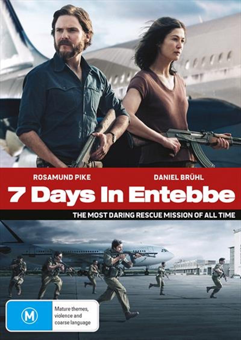 7 Days In Entebbe | DVD