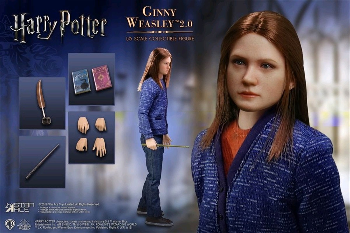 "Harry Potter - Ginny (Casual Clothes) 12"" 1:6 Scale Action Figure 