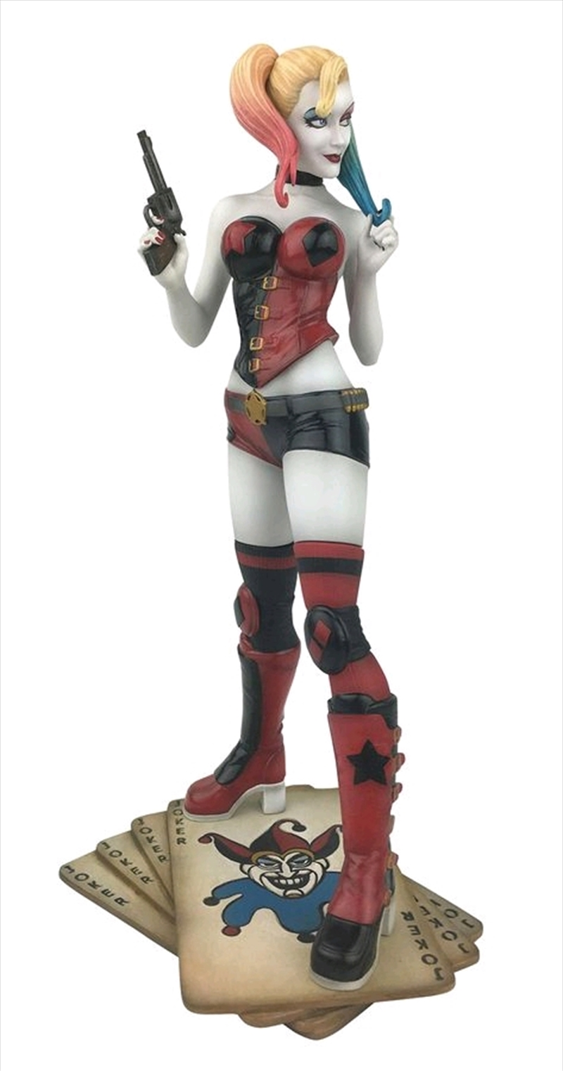 Batman - Harley Quinn Rebirth PVC Figure | Merchandise