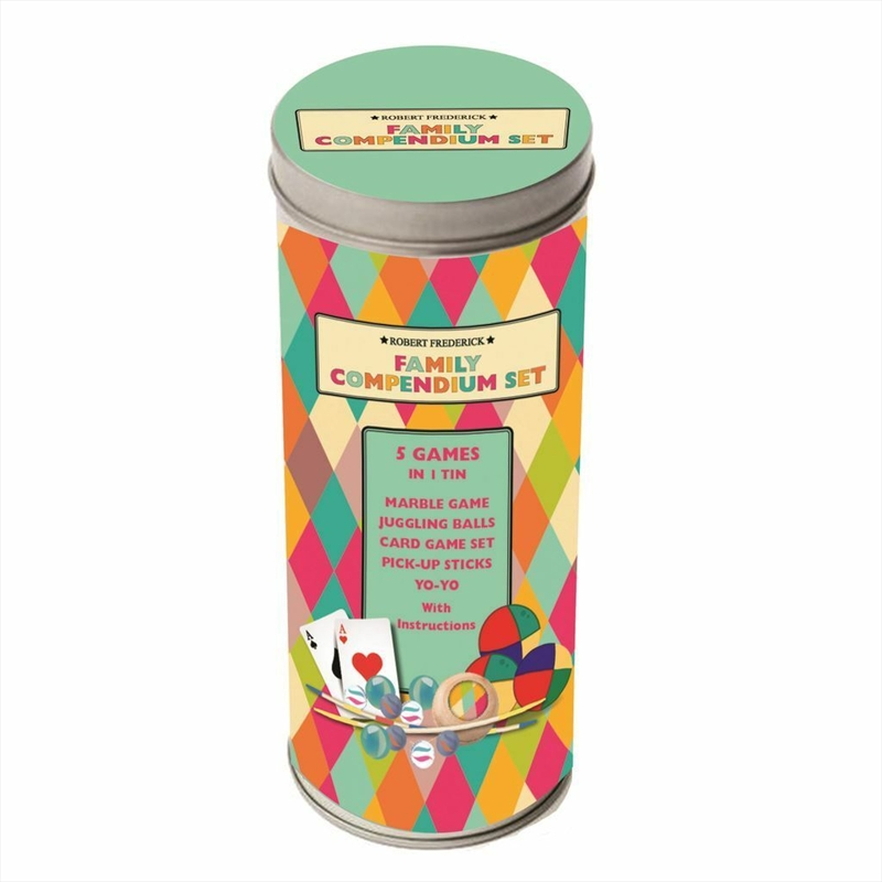 Cylinder Tin Compendium Games Pack | Toy
