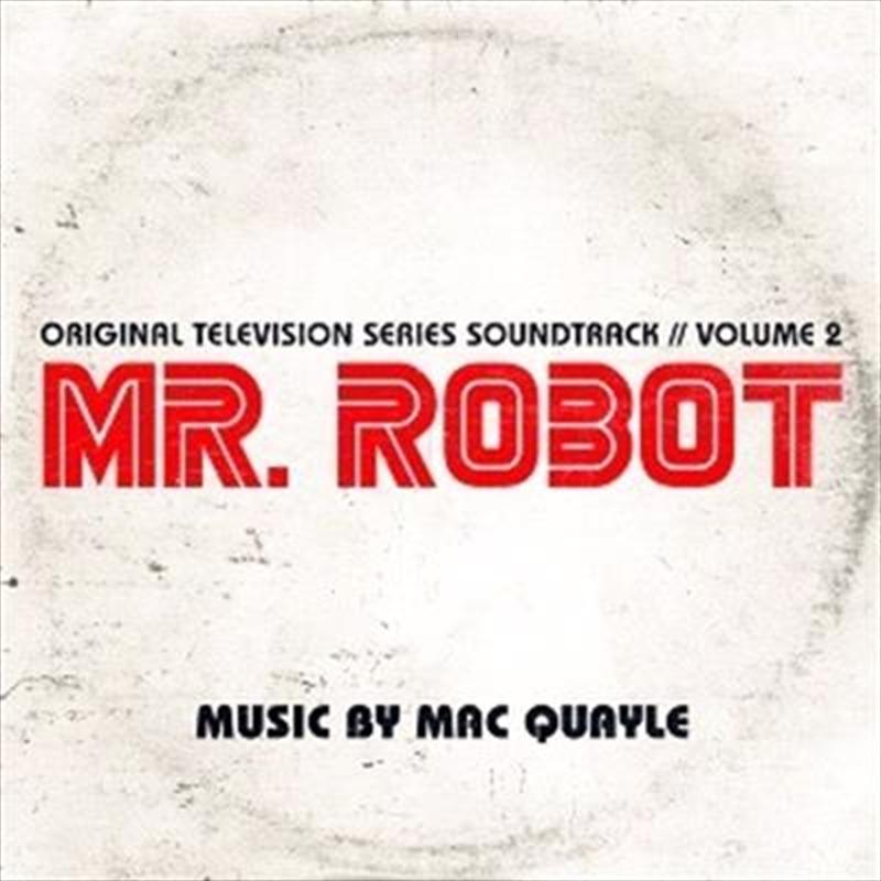 Mr. Robot Season 1 Vol 2   Vinyl