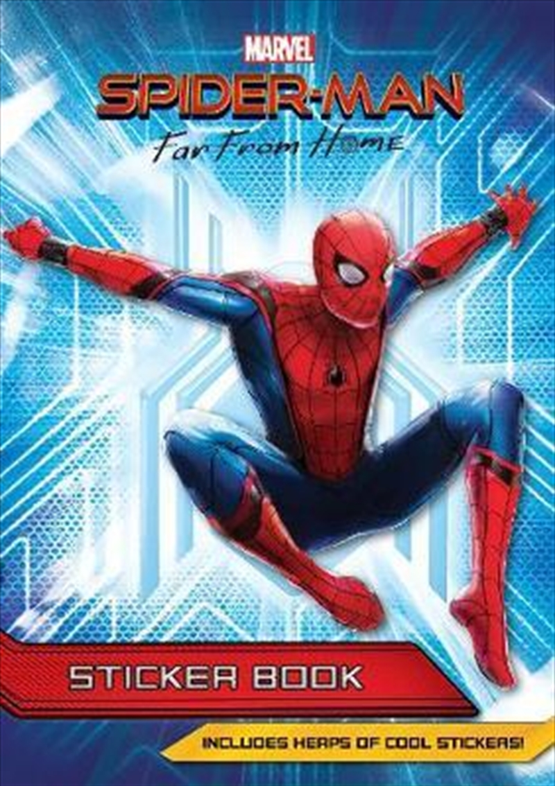Spider-Man Far From Home Sticker Activity Book | Paperback Book