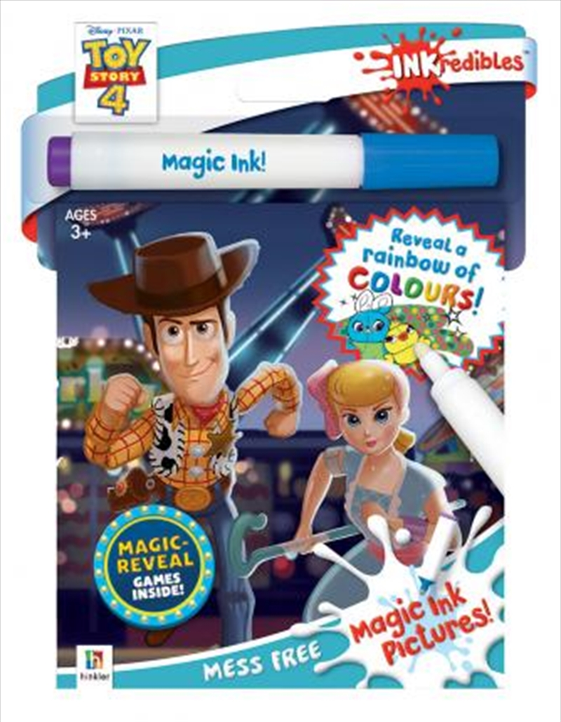 Inkredibles Toy Story 4 Magic Ink Pictures | Hardback Book