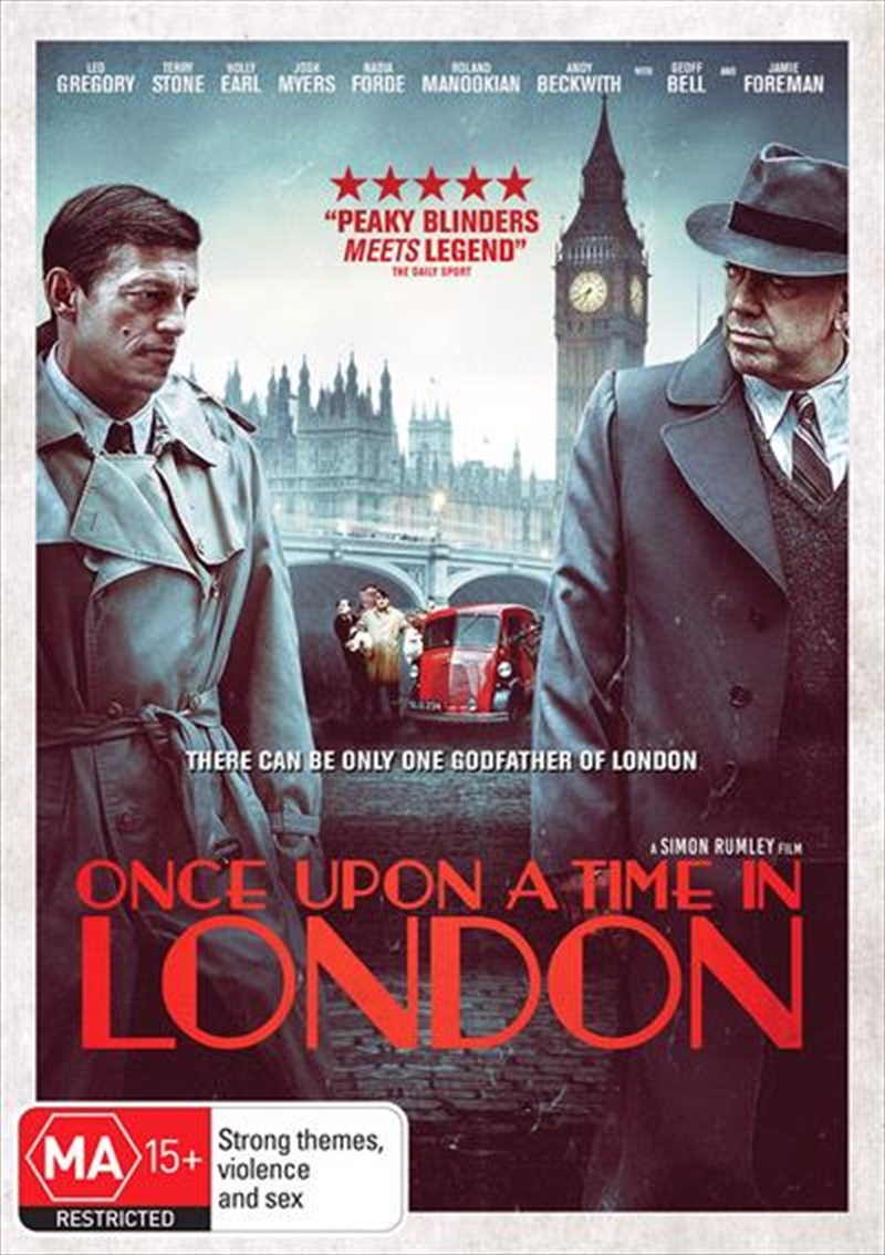 Once Upon A Time In London | DVD
