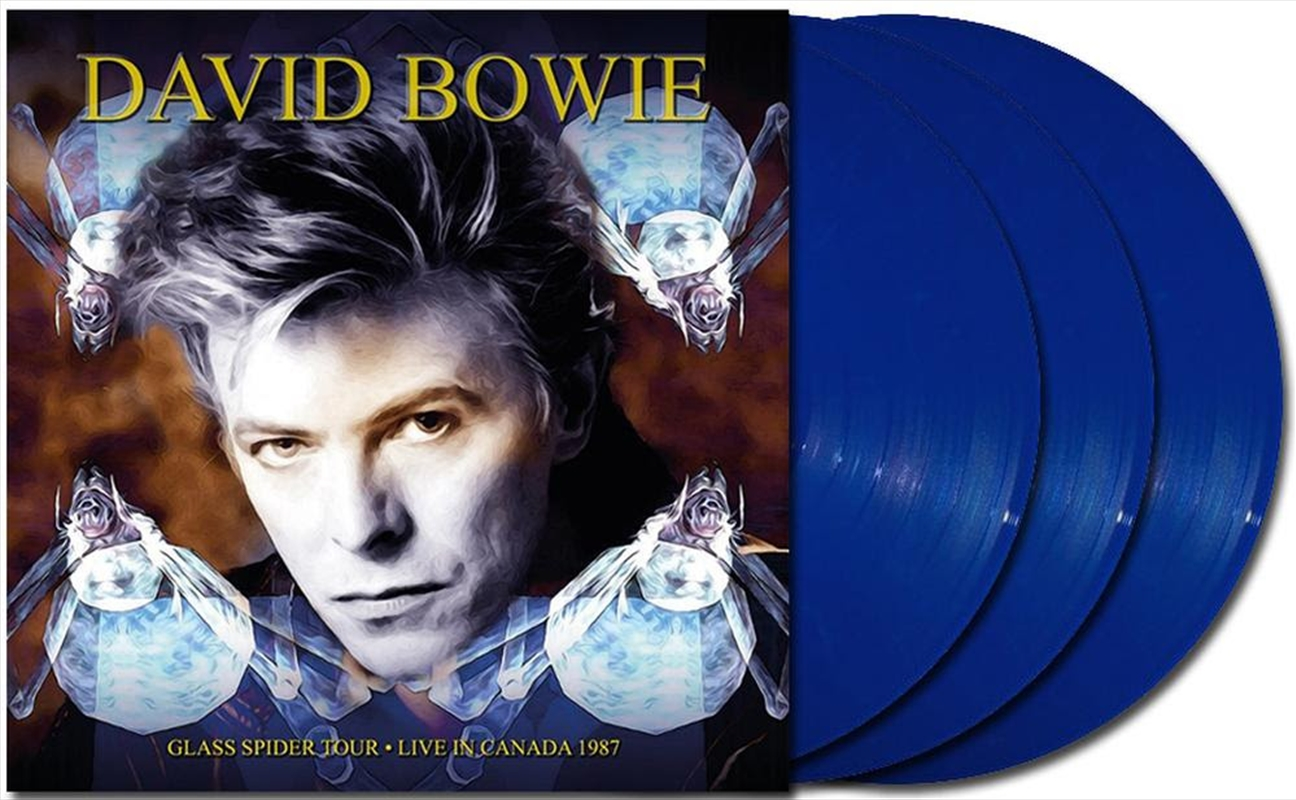 Glass Spider Tour - Limited Edition Blue Coloured Vinyl | Vinyl