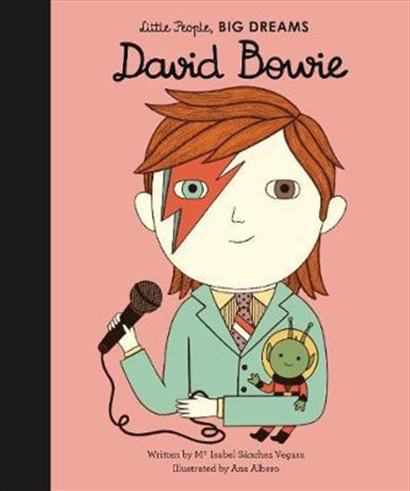 David Bowie (Little People, Big Dreams) | Hardback Book