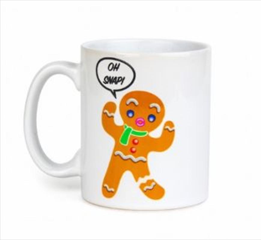 Colour Changing Gingerbread Man Mug | Merchandise