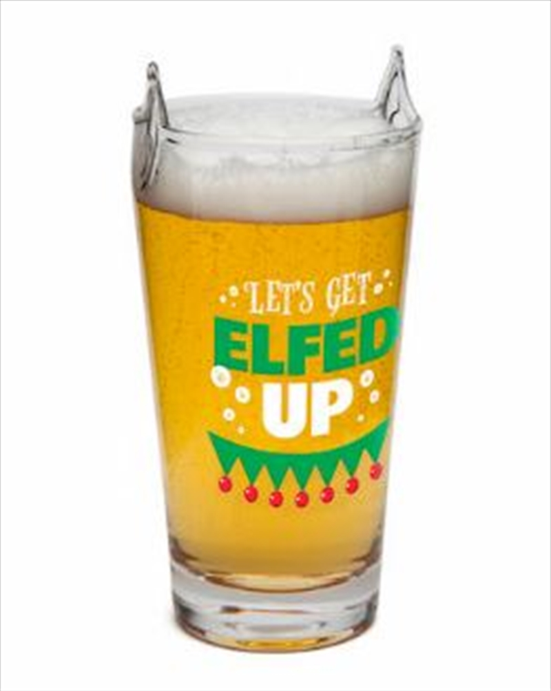 Elfed Up Beer Glass | Merchandise