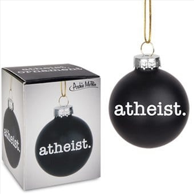 Atheist Ornament - Archie McPhee | Homewares