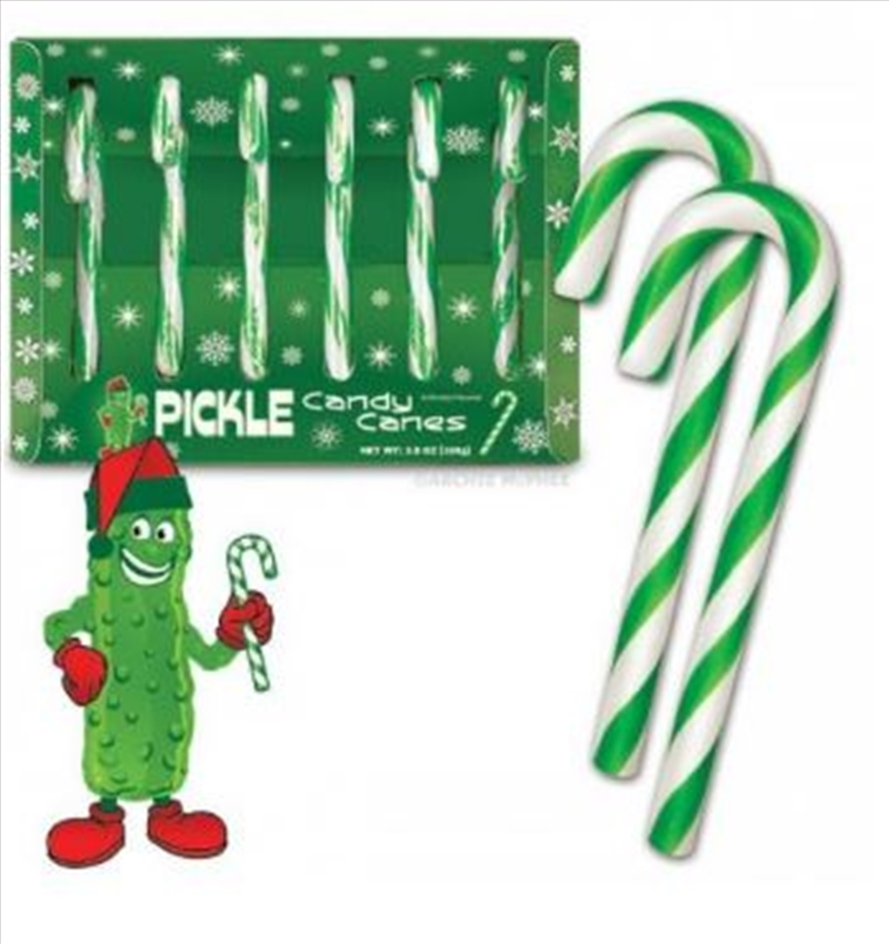 Pickle Candy Canes - Archie Mcphee | Miscellaneous